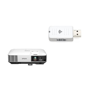 EPSON EB-2250U + WiFi dongle